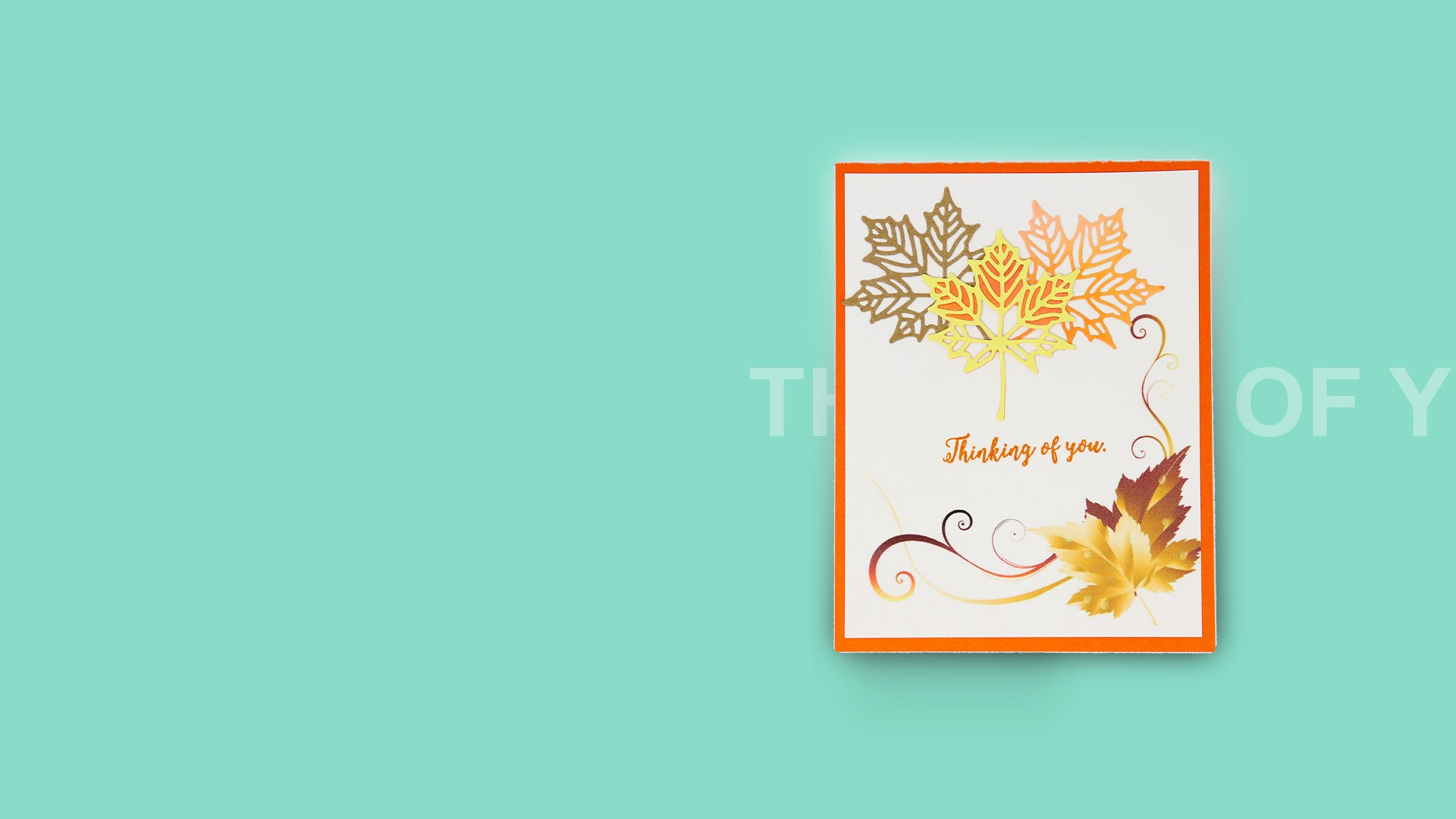 custom greeting cards - THINKING OF YOU